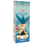 Success Incense Sticks, Hex Pack - 6 Boxes of 20 Sticks (120 Sticks)