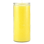 Yellow 14 Day Candle