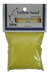 Sand, Yellow 4 oz