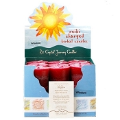 Wisdom Herbal Votive Candles, Box/18