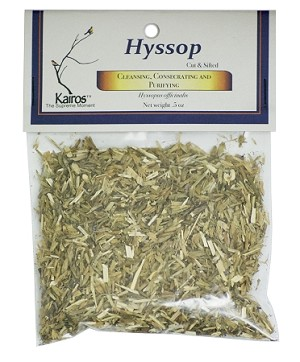 Hyssop, Cut & Sifted, Packaged, 0.5 oz.