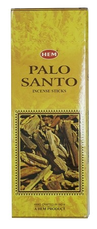 Palo Santo Incense Sticks, Hex Pack - 6 Boxes of 20 Sticks (120 Sticks)