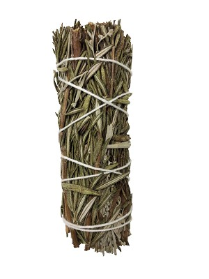 "Blue Sage & Rosemary Smudge Stick - 3-4"" Long, Each"