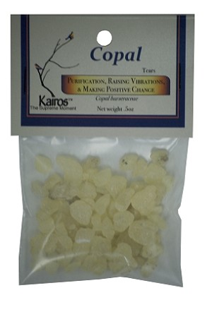 Copal Resin, Packaged, 0.5oz