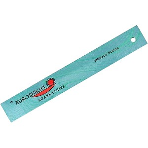 Auroshikha Marble Incense Sticks, Emerald, 10 Packs of 10 Sticks