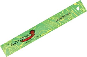 Auroshikha Marble Incense Sticks, Frankincense, 10 Packs of 10 Sticks