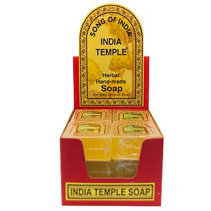 Song Of India - India Temple Soap, Box/12