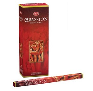 Passion Incense Sticks, Sq. Pk - 25 Boxes of 8 Sticks (200 Sticks)
