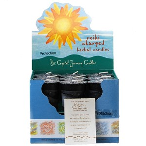 Protection Herbal Votive Candles, Box/18