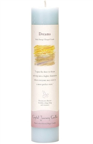 Dreams Herbal Magic Pillar Candle