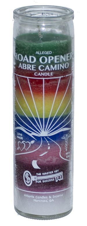 Road Opener 7 Day Candle, 7 Color