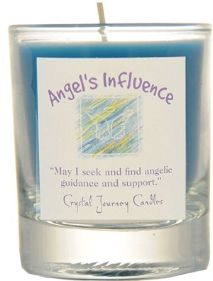 Angel's Influence Soy Filled Glass Votive Candle