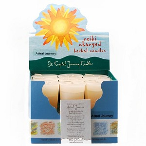 Astral Journey Herbal Votive Candles, Box/18