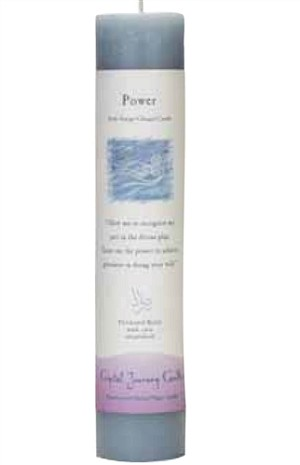 Power Herbal Magic Pillar Candle