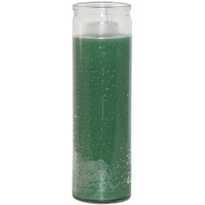 Green 7 Day Candle