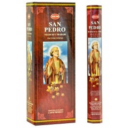 San Pedro Incense Sticks, Hex Pack - 6 Boxes of 20 Sticks (120 Sticks)