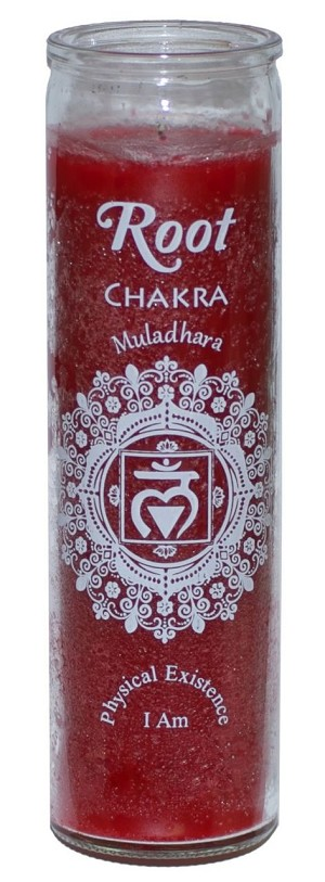 Root Chakra 7 Day Candle