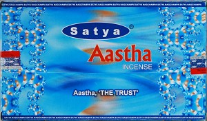 Aastha Incense Sticks 15 Gram, Box/12