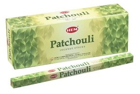 Patchouli Incense Sticks, Sq. Pk - 25 Boxes of 8 Sticks (200 Sticks)