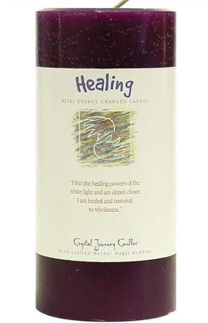 Healing 3 x 6 Herbal Magic Pillar Candle