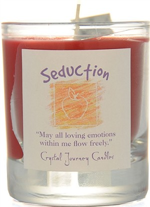 Seduction Soy Filled Glass Votive Candle