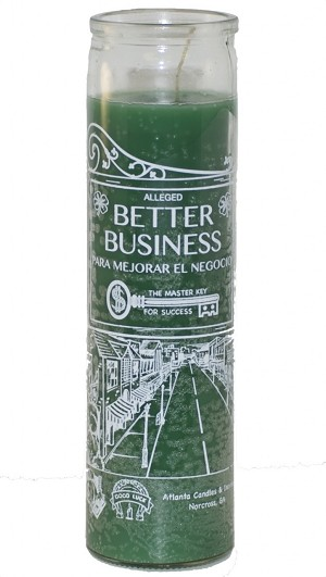 Better Business 7 Day Candle, Green