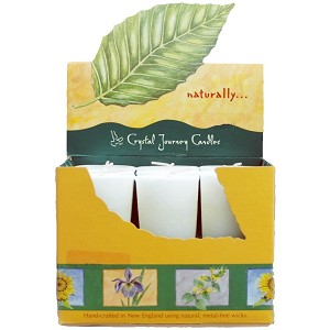 White Sage Scented Votive Candles, Box/18