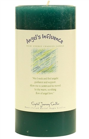 Angel's Influence 3 x 6 Herbal Magic Pillar Candle