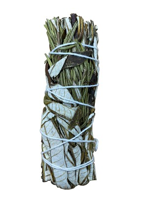"Rosemary & Yerba Smudge Stick - 4-5"" Long, Each"