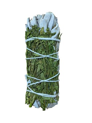 "White Sage & Rue Smudge Stick - 4-5"" Long, Each"